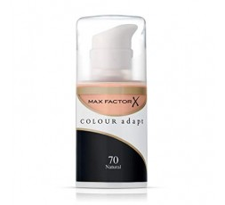 3 x Max Factor Colour Adapt Foundation 34ml - 70 Natural